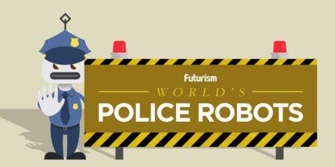 Il futuro della sicurezza: I robot poliziotti