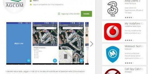 App4Italy. La recensione del giorno, AGCOM Broadbandmap