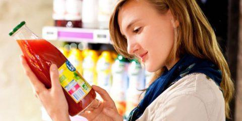 Cosedanoncredere. Prodotti alimentari, più informazioni in etichetta