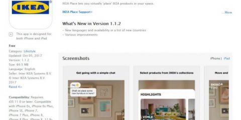 App4Italy. La recensione del giorno, IKEA Place
