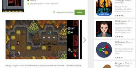 App4Italy. La recensione del giorno, Stranger Things – The Game