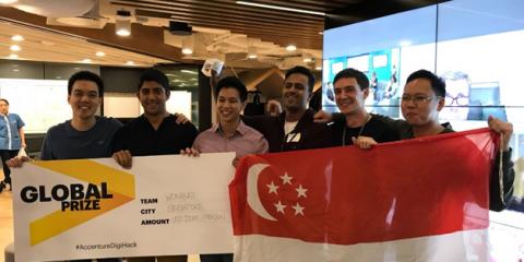 Accenture, premiati i vincitori della Digital Connected Hackathon