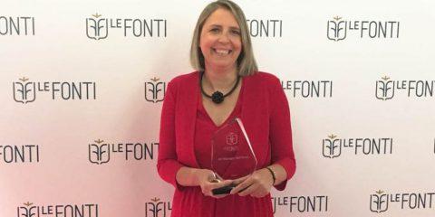 Vodafone Italia, Donatella Isaia eletta HR manager dell'anno da 'Le fonti Awards'