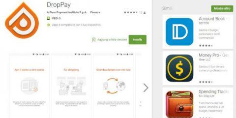 App4Italy. La recensione del giorno, DropPay