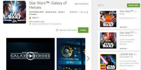 App4Italy. La recensione del giorno, Star Wars – Galaxy Of Heroes