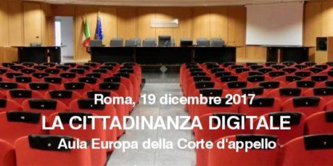 'Forum 20 – La cittadinanza digitale', il 19 dicembre a Roma il convegno su digitale e GDPR