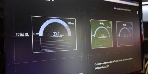 Torino, Tim accende la prima antenna 5G a onde millimetriche