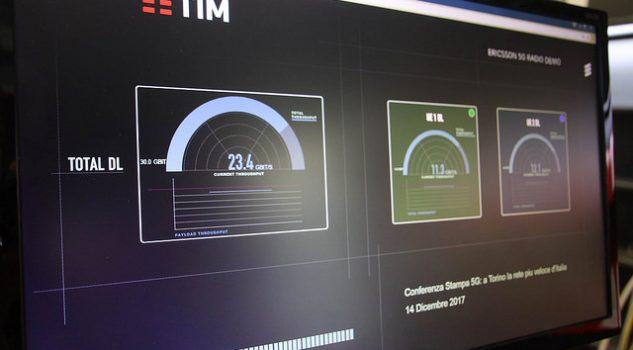 Tim ed Ericsson accendono il 5G a 20 Gigabit a Torino