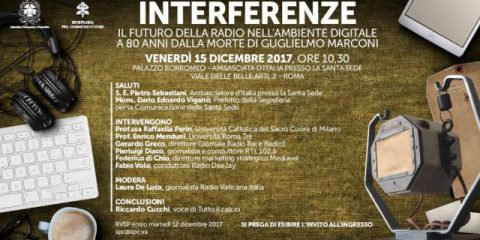 Radio e mondo digitale, il 15 dicembre l'evento 'Interferenze' a Roma