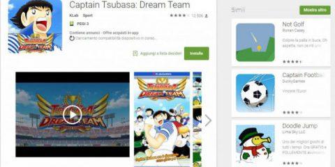App4Italy. La recensione del giorno, Captain Tsubasa: Dream Team