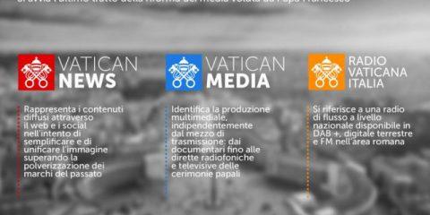 Vaticano, al via il nuovo modello produttivo dei media voluto da Papa Francesco
