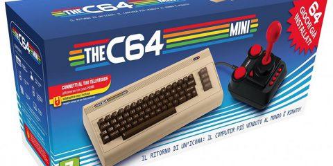 Il C64 Mini sarà disponibile a marzo