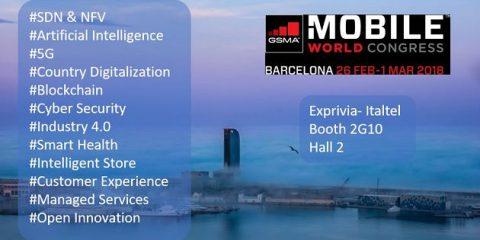 MWC 2018, il Gruppo Exprivia-Italtel a Barcellona per presentare le nuove soluzioni 5G e industry 4.0