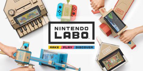 Nintendo presenta Labo, connubio tra Switch e… cartone