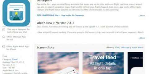 App4Italy. La recensione del giorno, App in the Air