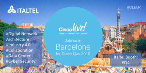 Italtel è Gold Sponsor di Cisco Live 2018