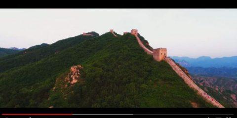 Videodroni. La Grande Muraglia cinese vista dal drone