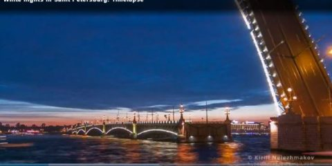 Videodroni. San Pietroburgo in Timelapse