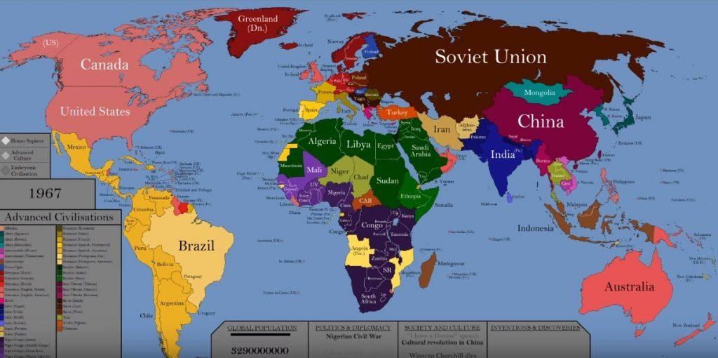 Cartina Mondo Online.Ecco La Mappa Animata Video Con La Storia Del Mondo Negli Ultimi 200 000 Anni Key4biz