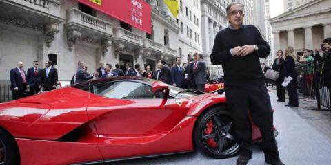 eMobility, Marchionne annuncia la Ferrari elettrica e il primo SUV di Maranello