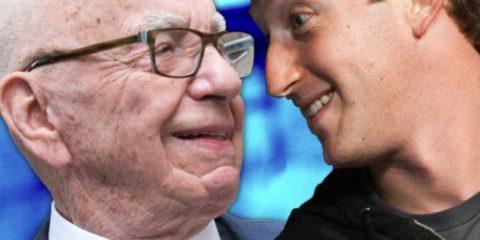 Come combattere le fake news su Facebook, chi ha ragione tra Murdoch e Zuckerberg?