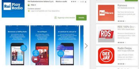 App4Italy. La recensione del giorno, RaiPlay Radio