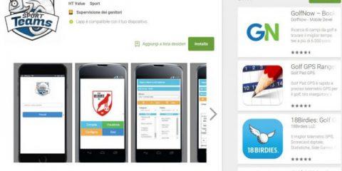 App4Italy. La recensione del giorno, Sport Teams