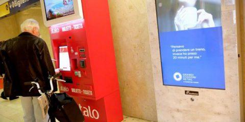 Pubblicità Totem in stazione, Garante Privacy: 'Serve segnalare la presenza delle telecamera'