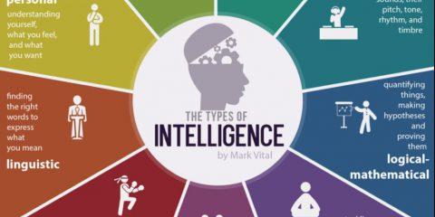 I 9 tipi di intelligenza che può possedere un essere umano