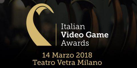 È il momento degli Italian Video Game Awards: inizio fissato alle 19
