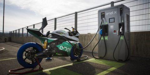 Enel sponsor della MotoE World Cup, il primo campionato motociclistico interamente elettrico