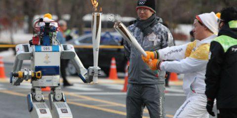 Robot protagonisti dei Giochi olimpici, ma in Italia Salvini li vuole tassare