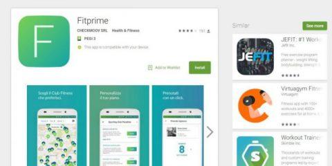 App4Italy. La recensione del giorno, Fitprime