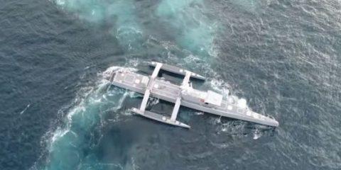 Sea Hunter, la prima nave-drone al mondo è pronta a salpare (Video)