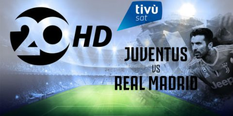 Tivùsat, il 3 aprile gratis e in HD Juventus-Real Madrid