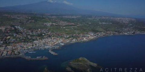 Videodroni. Acitrezza (Sicilia) vista dal drone