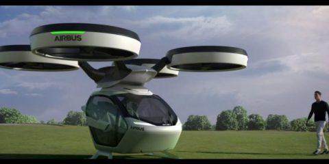 L'auto che si trasforma in 'drone' e vola