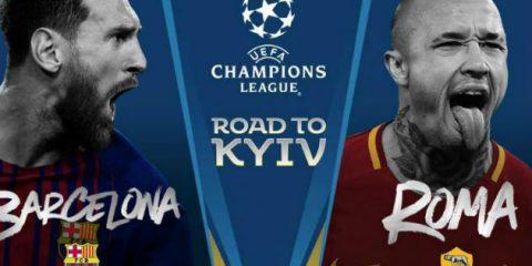 Tivùsat, il 4 aprile 'Barcellona – Roma' in chiaro e in HD