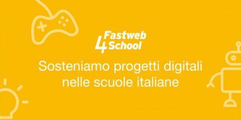 Fastweb4School, online i 38 progetti ammessi alla fase di crowdfunding