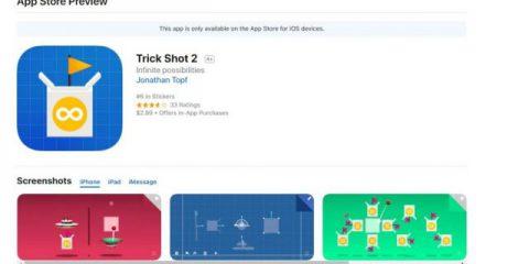 App4Italy. La recensione del giorno, Trick Shot2