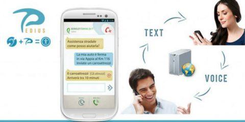 Pedius, l'app gratuita che consente ai non udenti di comunicare con Enel