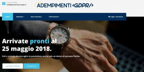 Adempimenti-gdpr.it