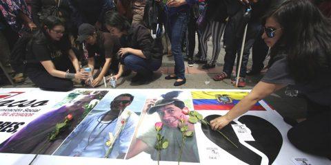 Otto arresti per l'omicidio dei due giornalisti dell'Ecuador, La Catalogna chiede la liberta' dei prigionieri politici, Guerra in Siria