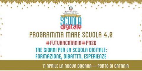 Catania, dall'11 al 13 aprile la tappa del 'Piano Nazionale Scuola Digitale'