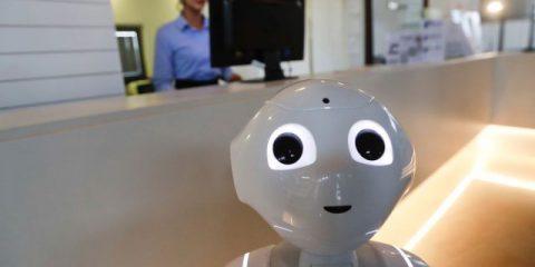 Chi è Robby Pepper, il primo robot 'concierge' al mondo