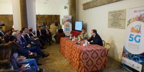 5G nelle città europee, l'evento in Campidoglio con Roberto Viola (DG Connect). Il videoreportage