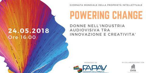 World IP Day 2018, Donne nell'industria audiovisiva tra innovazione e creatività