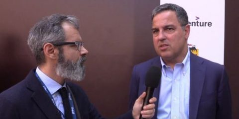 Festival della TV e dei nuovi media. 'Contenuti e distribuzione sempre più convergenti'. Videointervista a Michele Marrone (Accenture Italia)