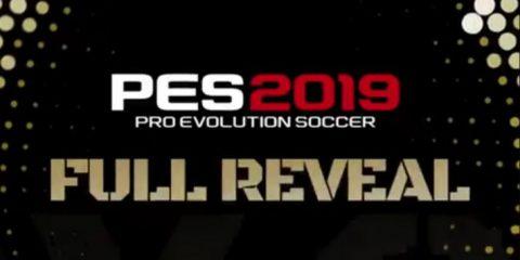 Imminente la presentazione di PES 2019