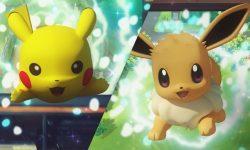 Pokemon Let's Go Pikachu Eevee